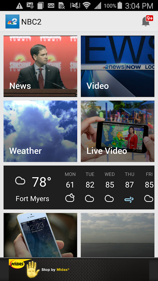 NBC2 App - #1 News App in SWFL- screenshot