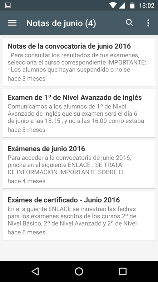 Notificaciones EOI Montijo- screenshot