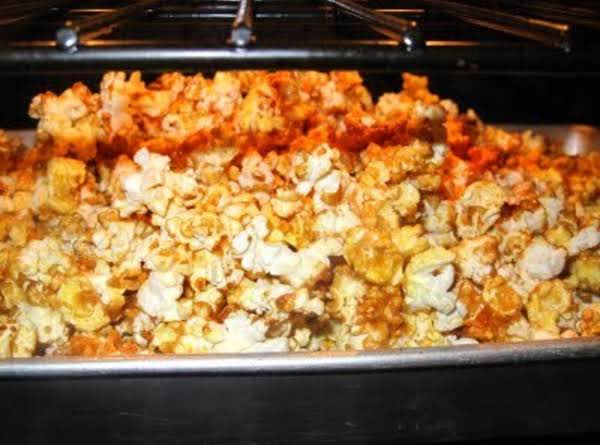 The Best Caramel Corn Recipe Ever!