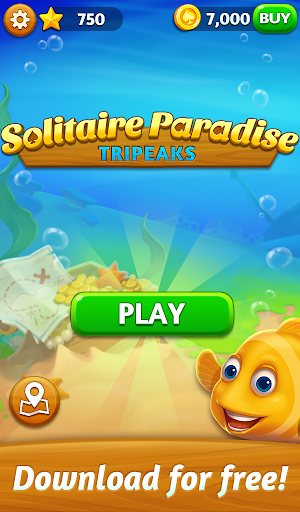 Solitaire Paradise: Tripeaks  screenshots 13