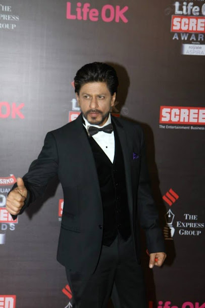 Shahrukh Khan at Life OK Screen Awards 2013, Shahrukh Khan at award show
