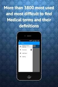 Medical Dictionary German screenshot 0