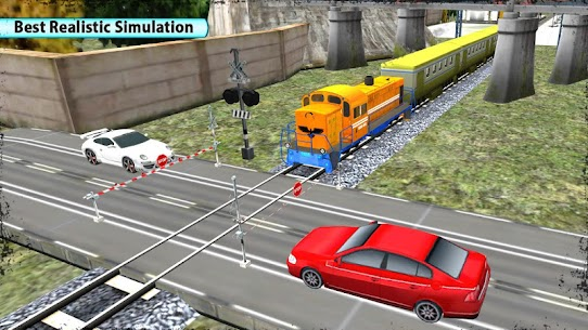 Train Racing 3D-2018 3