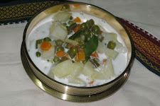 Vegetables In Coconut Milk - Veg Stew