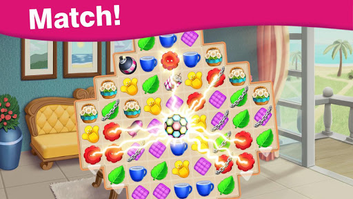 Home Cafe : Mansion Design - Match Blast 2.4 screenshots 15
