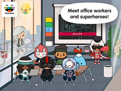 Toca Life: Office MOD (Unlocked) 4