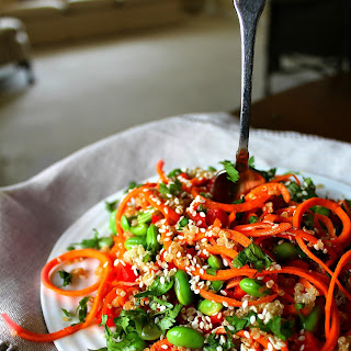 Tangled Asian Quinoa Salad