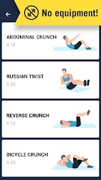 6 Pack in 30 Days - Abs Workout APK screenshot thumbnail 4