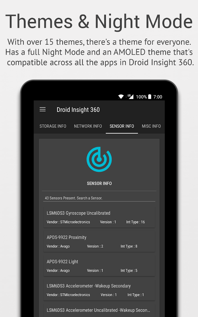 Скриншот Droid Insight 360
