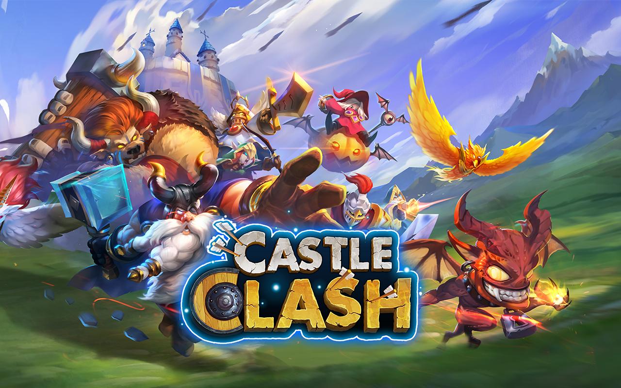 Game Perang Kerajaan Castle Clash: Brave Squads