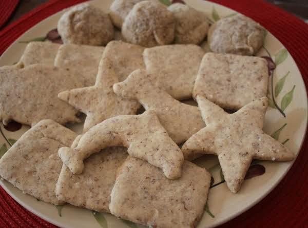 Soft, Almond-lavender Cookies