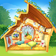 Bloomberry match-3 story. Merge fruits & decorate! icon