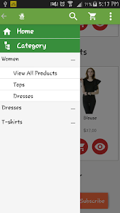 Prestashop Mobile App Builder screenshot 0