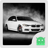 White BMW Theme