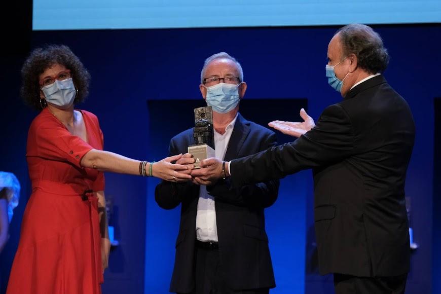 Premio Trabajador: Gonzalo Fuentes.