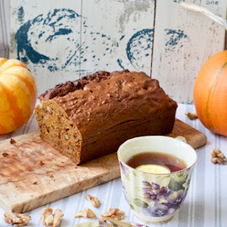 Nutty Pumpkin & Banana Bread with Chocolate Chips Recipe