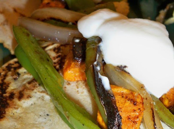 Sweet Potato Fajitas Recipe