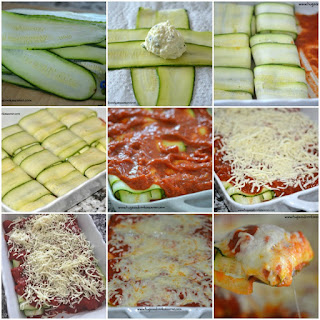 Zucchini Raviolis.