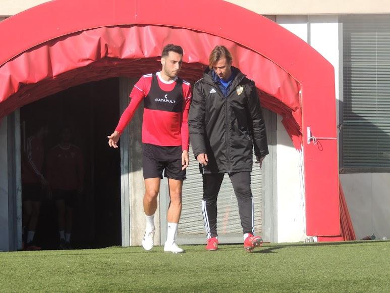 Aguza y Guti.
