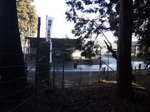 鳥獣害防止柵の扉