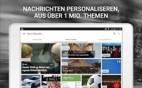 News republic ihre nachrichten android apps auf google play for Nachrichten seiten