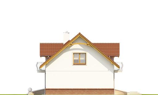Dom Dla Ciebie 1 w3 bez garażu B - Elewacja prawa