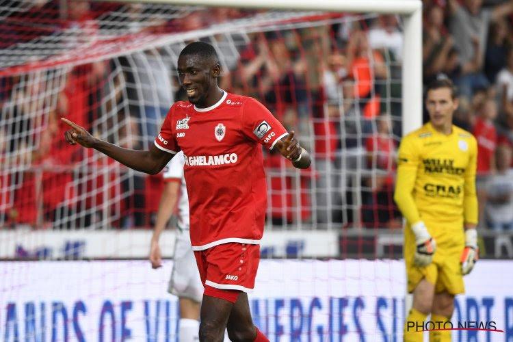 Owusu, en fin de contrat à l'Antwerp en juin prochain, évoque la prolongation et le transfert