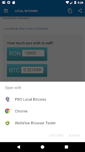 Local Bitcoins Pro Screenshot