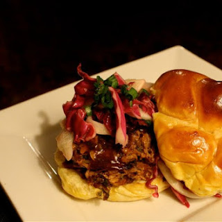 Pulled Pork Sandwiches with Fennel-Cabbage Slaw Recipe