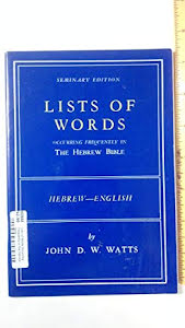 LISTS OF WORDS