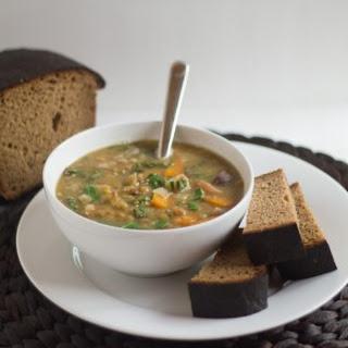 Pressure Cooker Lentil Soup.