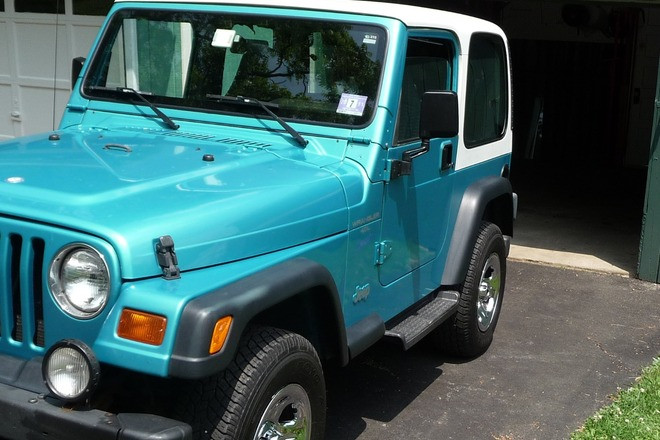 Beautiful shape 1997 Jeep Wrangler Custom Color Hire NJ 07830