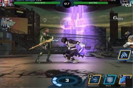 Trick Power Rangers Legacy War - náhled