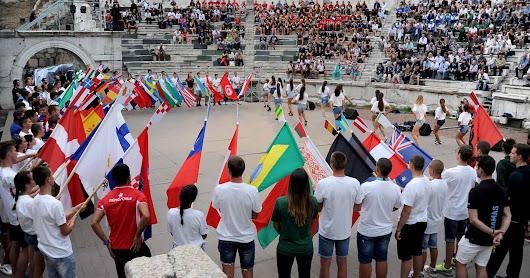Great emotions and crazy party on the Opening Ceremony of the World Rowing under 23 Championships