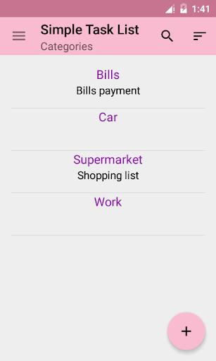Simple Task List