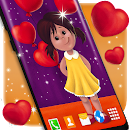 Girl in Love Live Wallpaper file APK Free for PC, smart TV Download