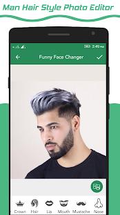 Handsome Man : Man Hair Styles Photo Editor - náhled