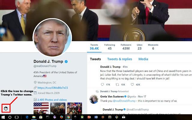 Trump's Twitter Transformation