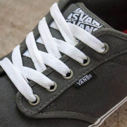 Cách thắt dây giày Ván theo kiểu Criss – cross 2