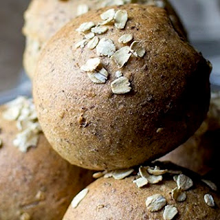 Flax Oat Wheat Dinner Rolls