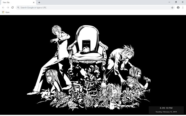 Death Note New Tab & Wallpapers Collection
