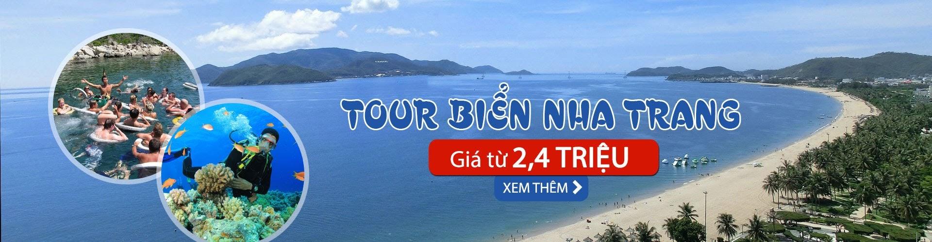 tour du lịch biển Nha Trang