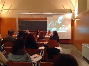 Photo: L'experiència didàctica de la Fundació Joan Brossa, a càrrec de Judith Barnés