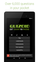 Screenshot of Quizoid: Trivia Quiz 2015