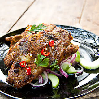 Indian Spiced Lamb Chops Recipes.