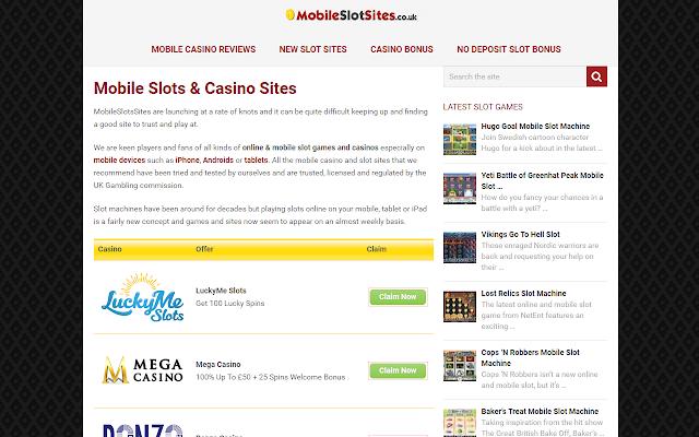 MobileSlotSites - Mobile Slots & Casino Sites