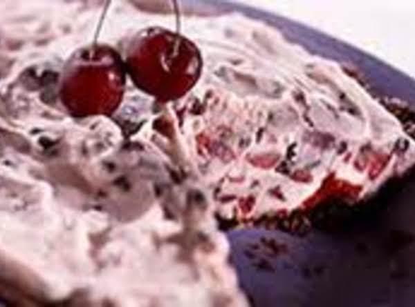 Cream-cheese Cherry Swirl Pie