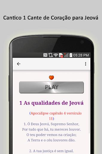 Cante de Corau00e7u00e3o para Jeovu00e1 5.0 screenshots 3