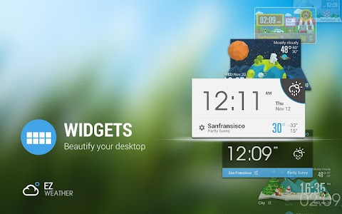 3D Mini Sky Super Widget Free screenshot 4
