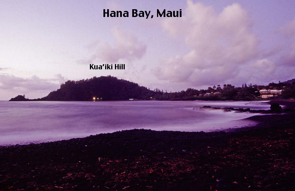 hana bay beach